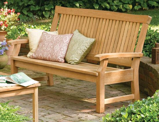 Péče o zahradní nábytek