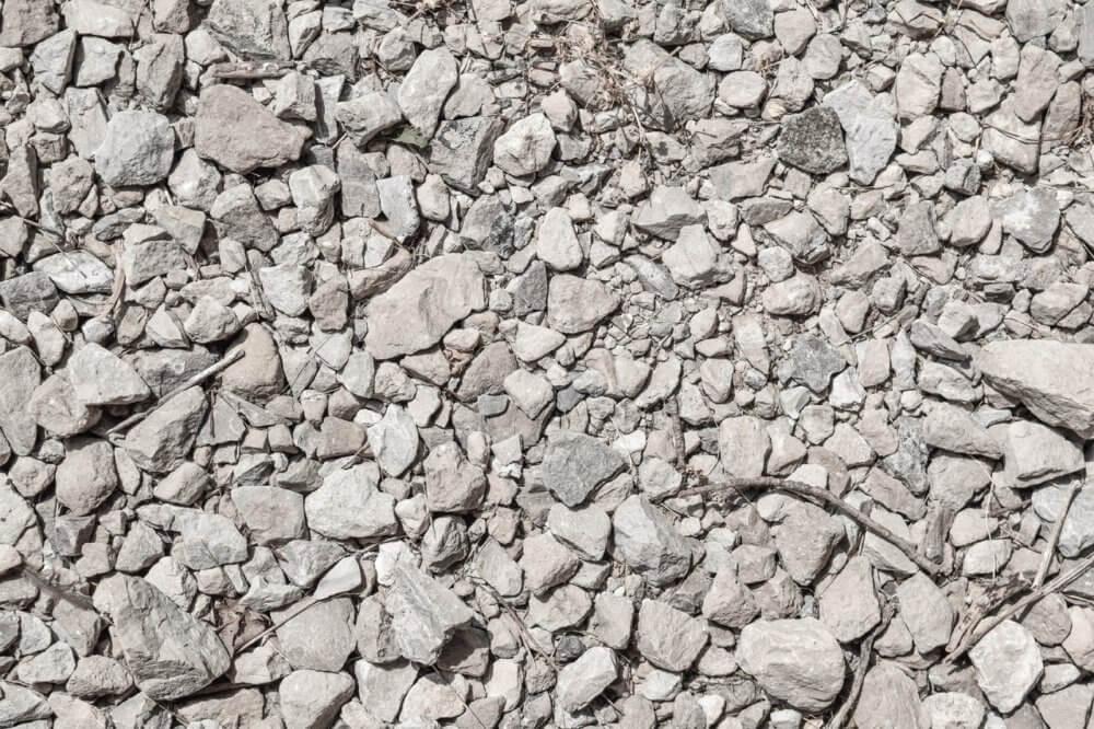 drcené kamenivo