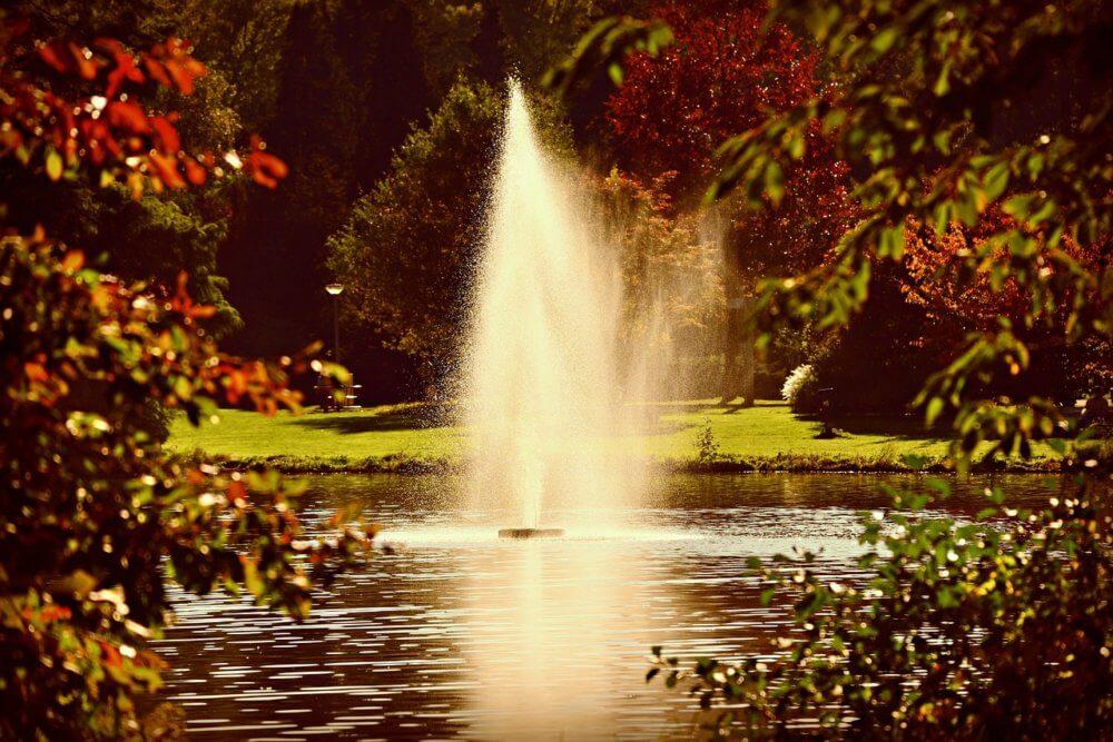 Plovoucí fontána